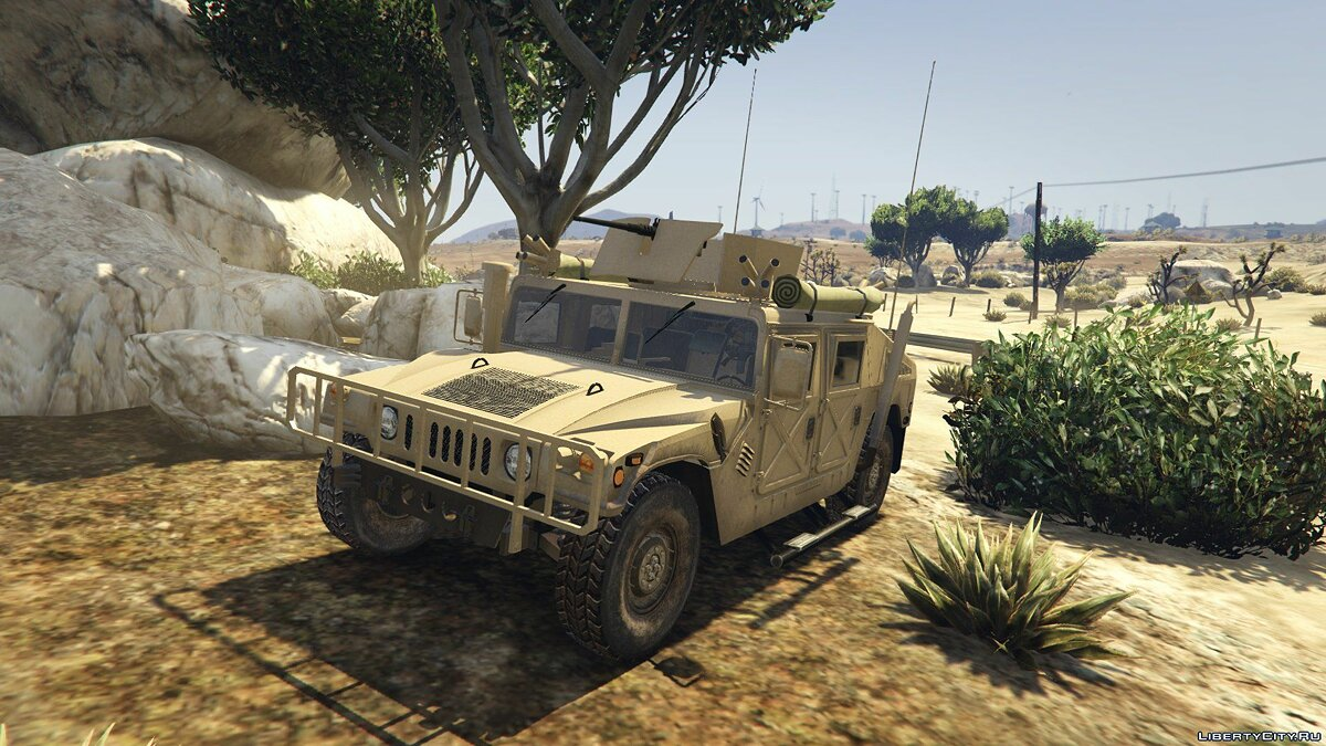 HMMWV M966 [Add-On] для GTA 5 - скриншот #2