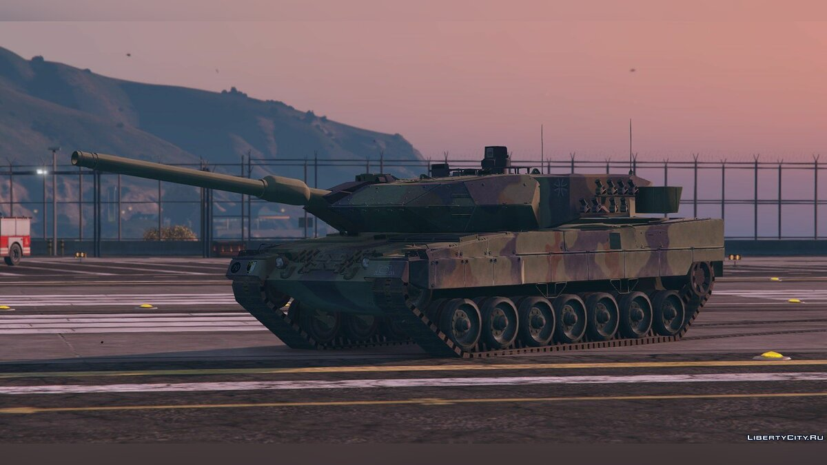 Leopard 2A6 German MBT [Replace] для GTA 5 - скриншот #2