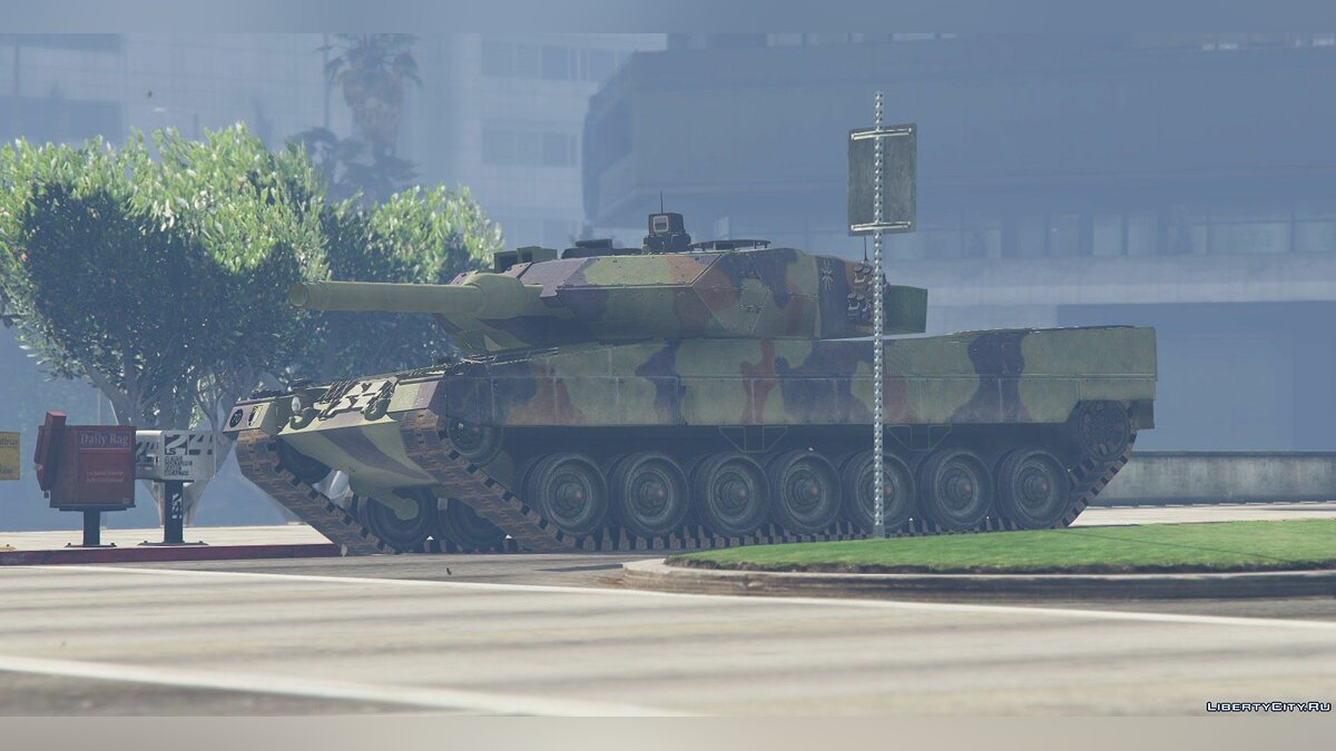 Leopard 2A6 German MBT [Replace] для GTA 5