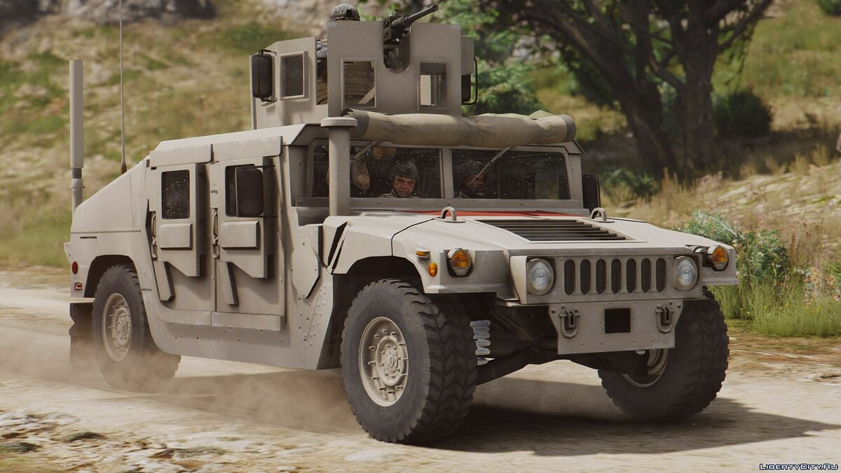 M1114 Up-Armored Humvee (Add-On) 2.0 для GTA 5