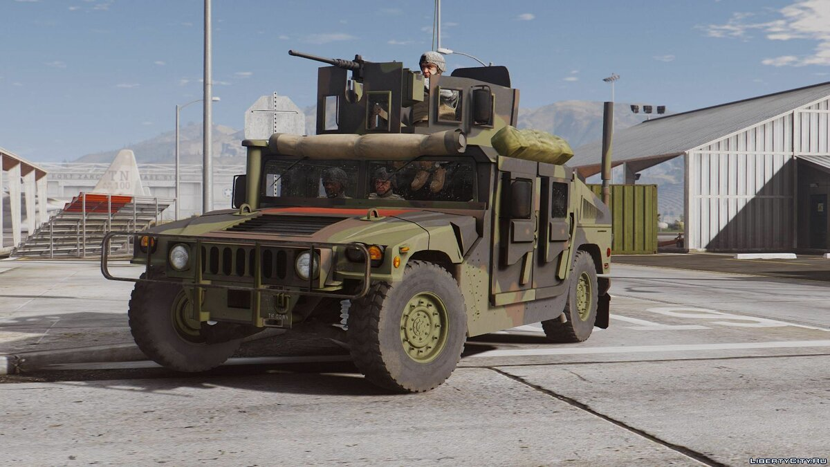 M1114 Up-Armored Humvee (Add-On) 2.0 для GTA 5 - скриншот #2