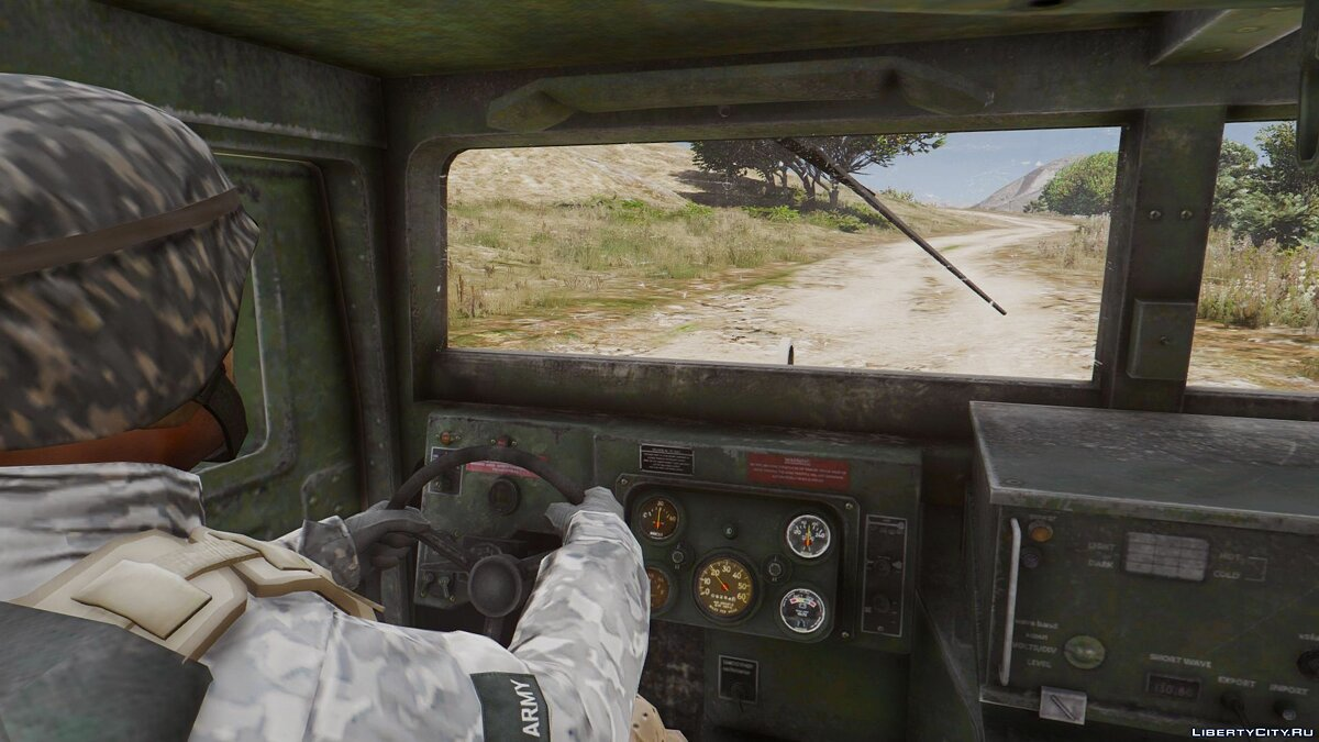 M1114 Up-Armored Humvee (Add-On) 2.0 для GTA 5 - скриншот #4