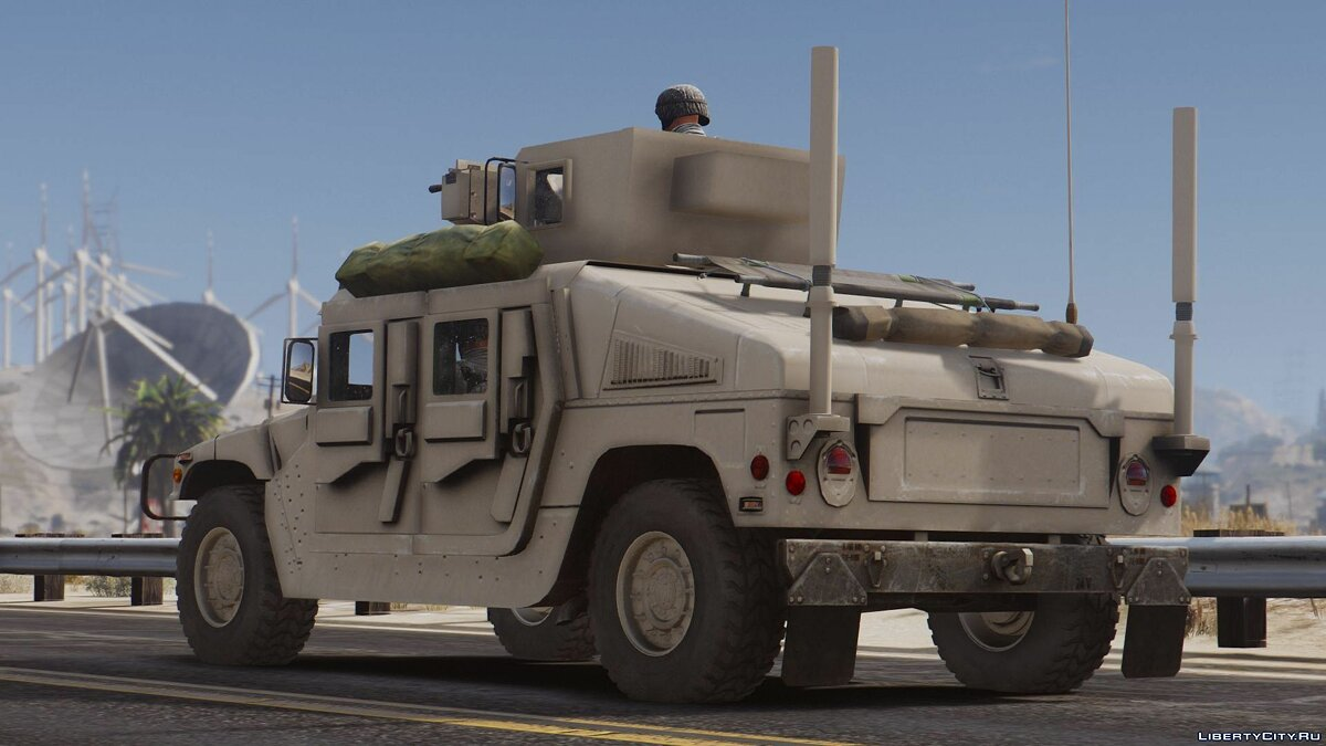 M1114 Up-Armored Humvee (Add-On) 2.0 для GTA 5 - скриншот #6