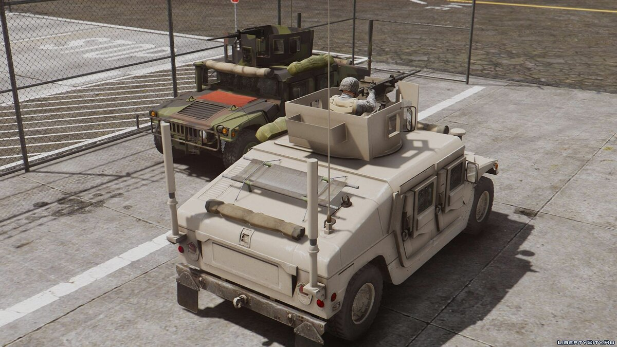 M1114 Up-Armored Humvee (Add-On) 2.0 для GTA 5 - скриншот #7