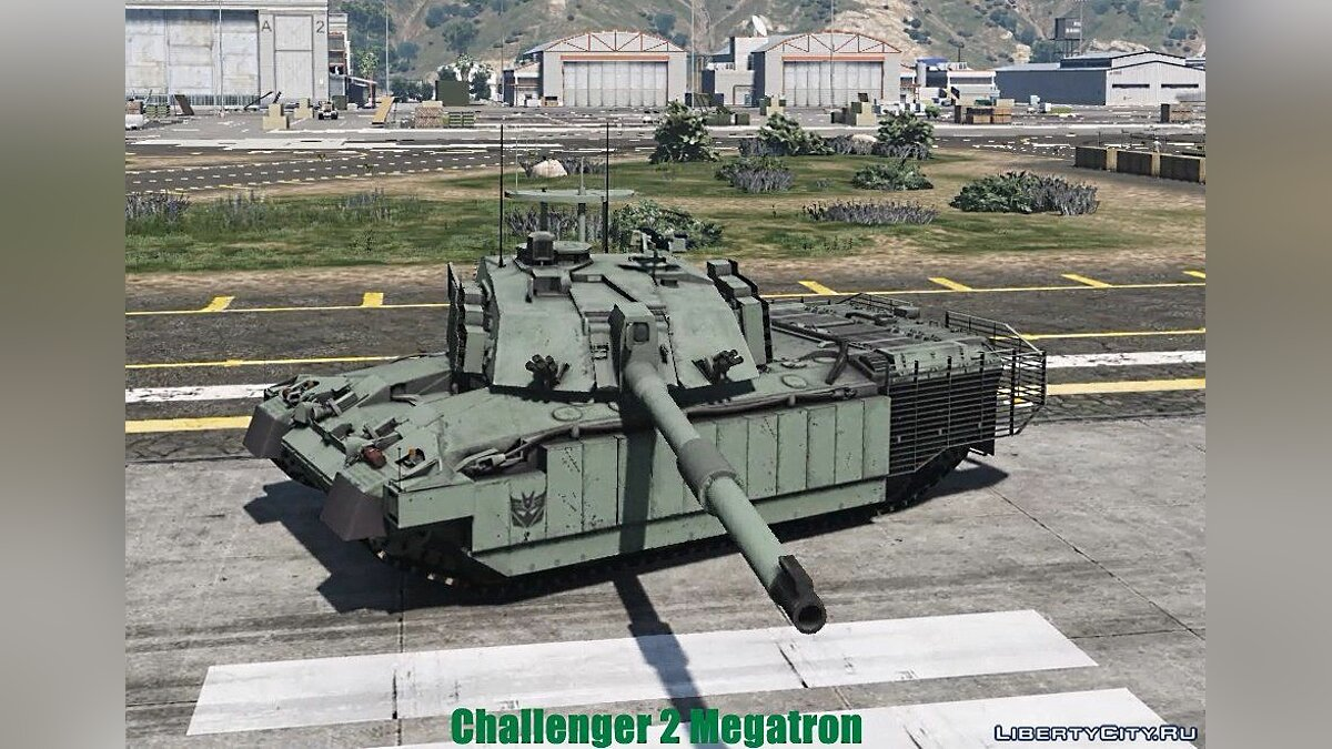 Challenger 2 Megatron [Add-On | HQ] 1.1 для GTA 5