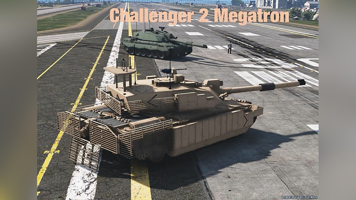 Challenger 2 Megatron [Add-On | HQ] 1.1 для GTA 5 - скриншот #3