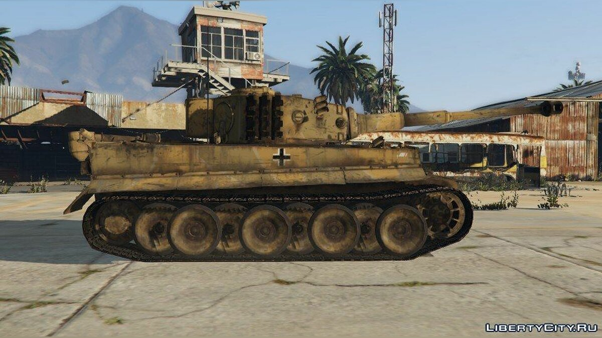 World War II Tanks Pack 1.0 для GTA 5 - скриншот #3