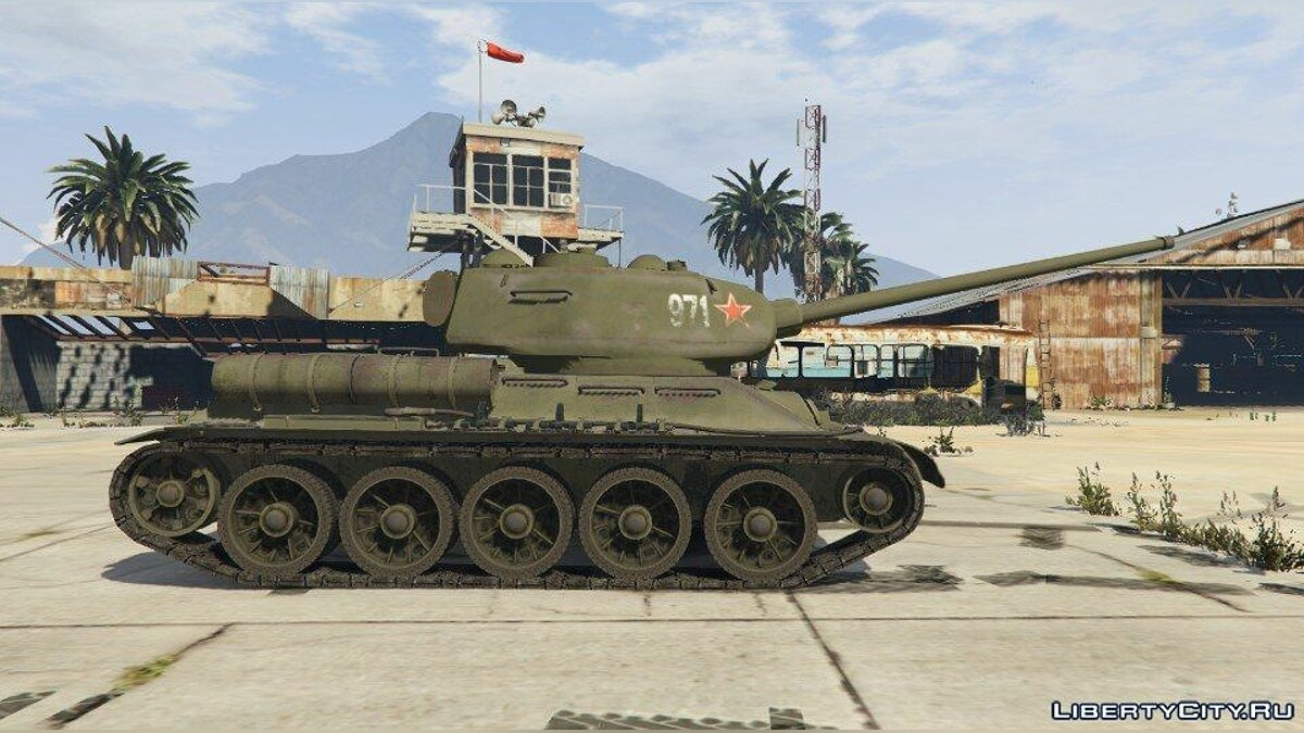 World War II Tanks Pack 1.0 для GTA 5 - скриншот #4