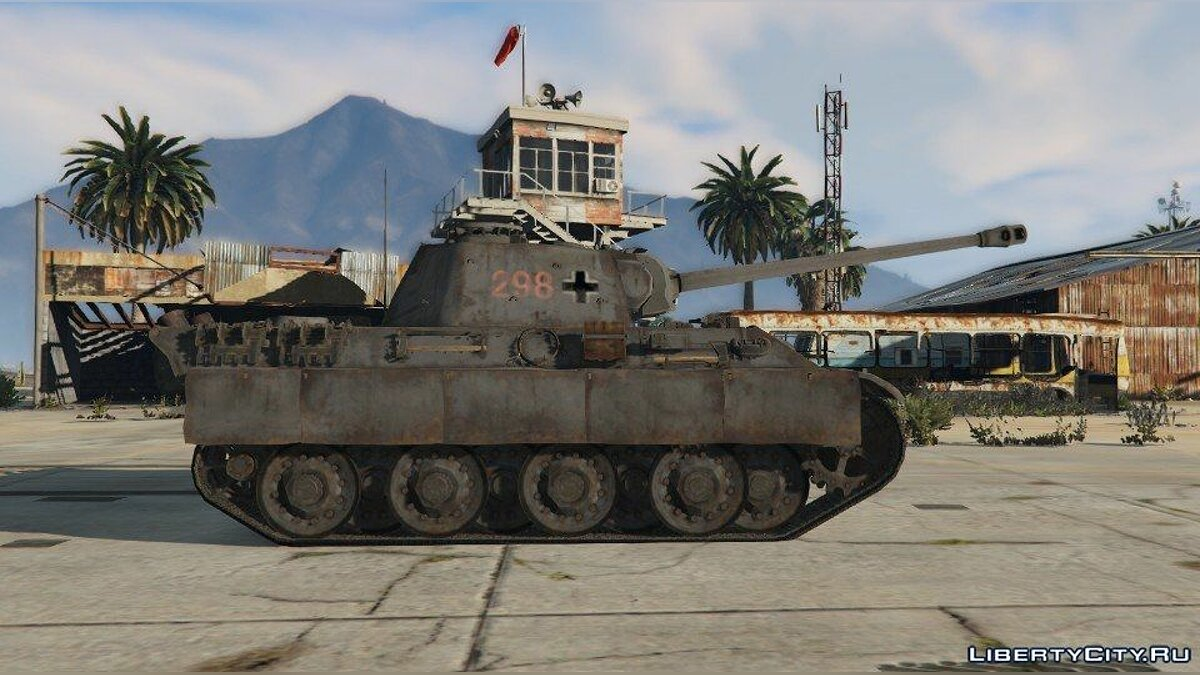 World War II Tanks Pack 1.0 для GTA 5 - скриншот #5