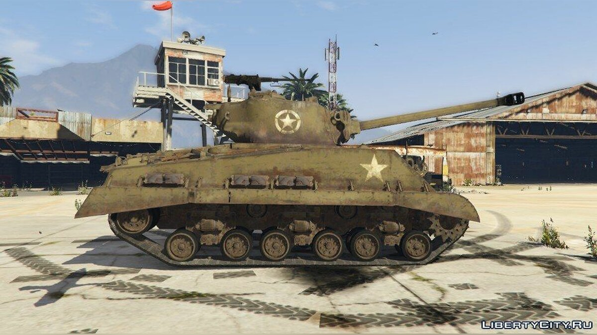 World War II Tanks Pack 1.0 для GTA 5 - скриншот #7