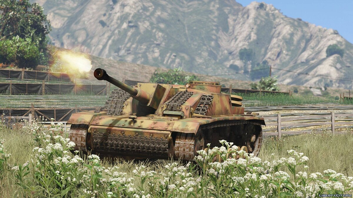 Военная машина Sturmgeschütz III Ausf. G [Add-On | Tuning] 1.0 для GTA 5