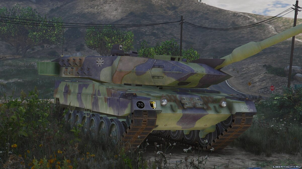 Leopard 2A6 German MBT [Add-On] для GTA 5