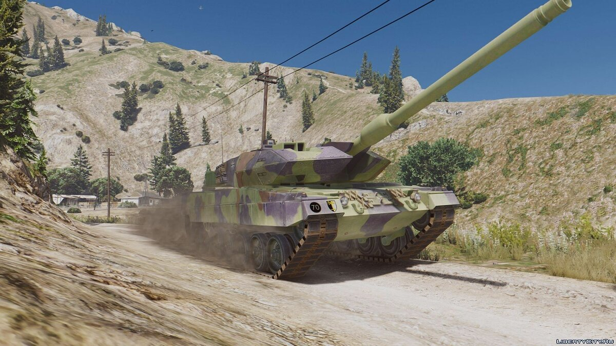Leopard 2A6 German MBT [Add-On] для GTA 5 - скриншот #2