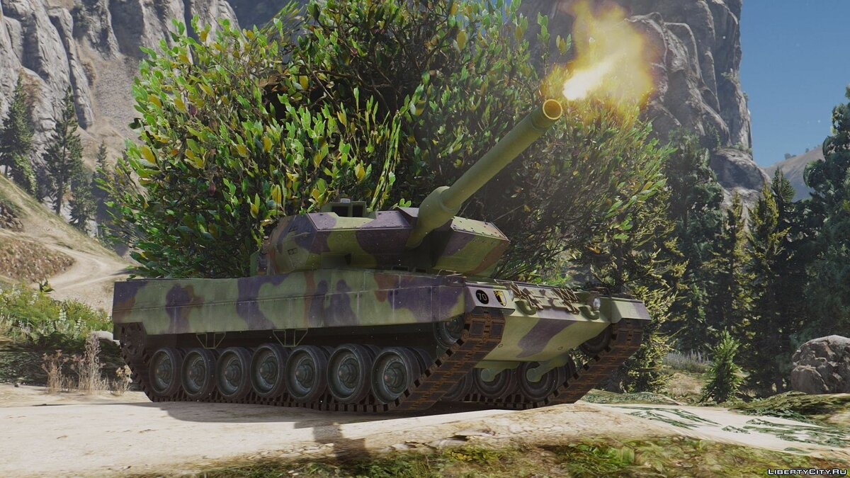 Leopard 2A6 German MBT [Add-On] для GTA 5 - скриншот #4