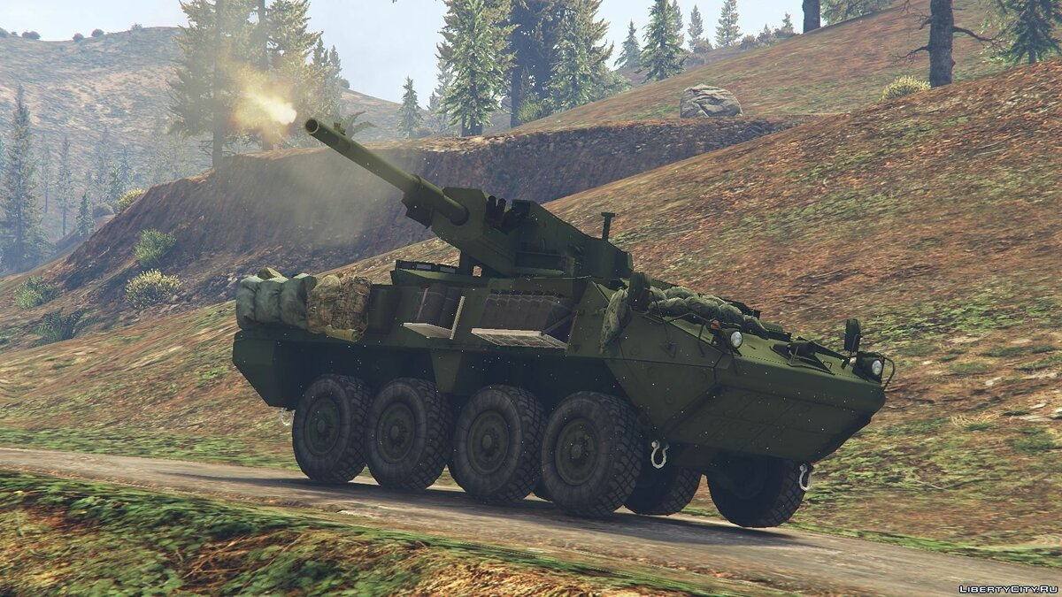 M1128 Stryker Mobile Gun System [Add-On] для GTA 5