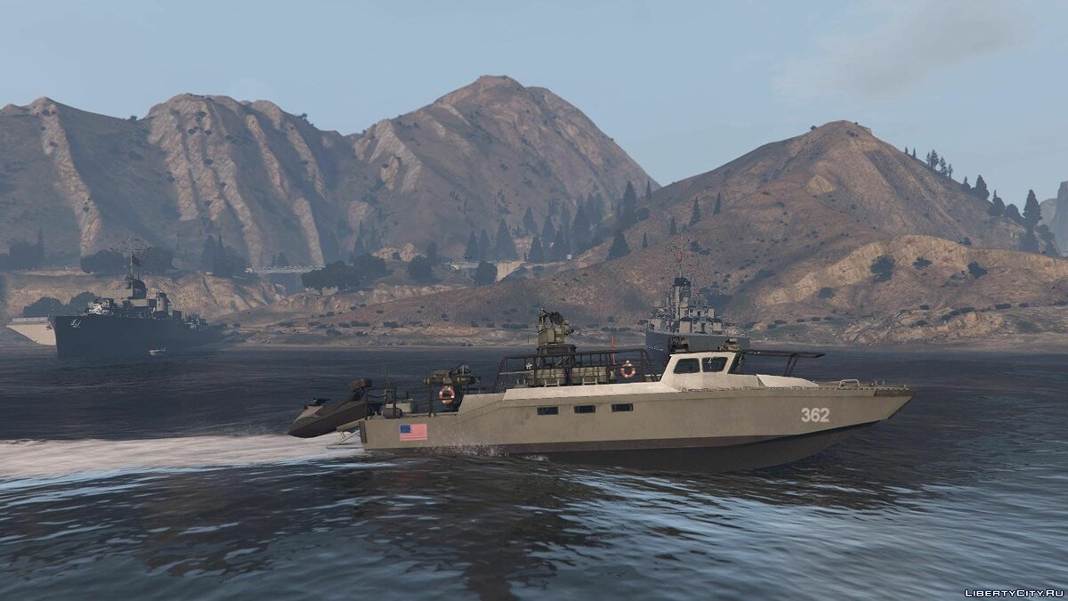 Лодка и катер Fast Assault Craft BF4 [Add-On] для GTA 5