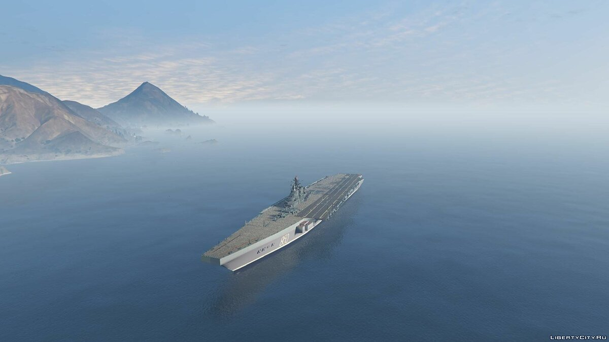 Drivable Aircraft Carrier [Add-On] 2.0 для GTA 5