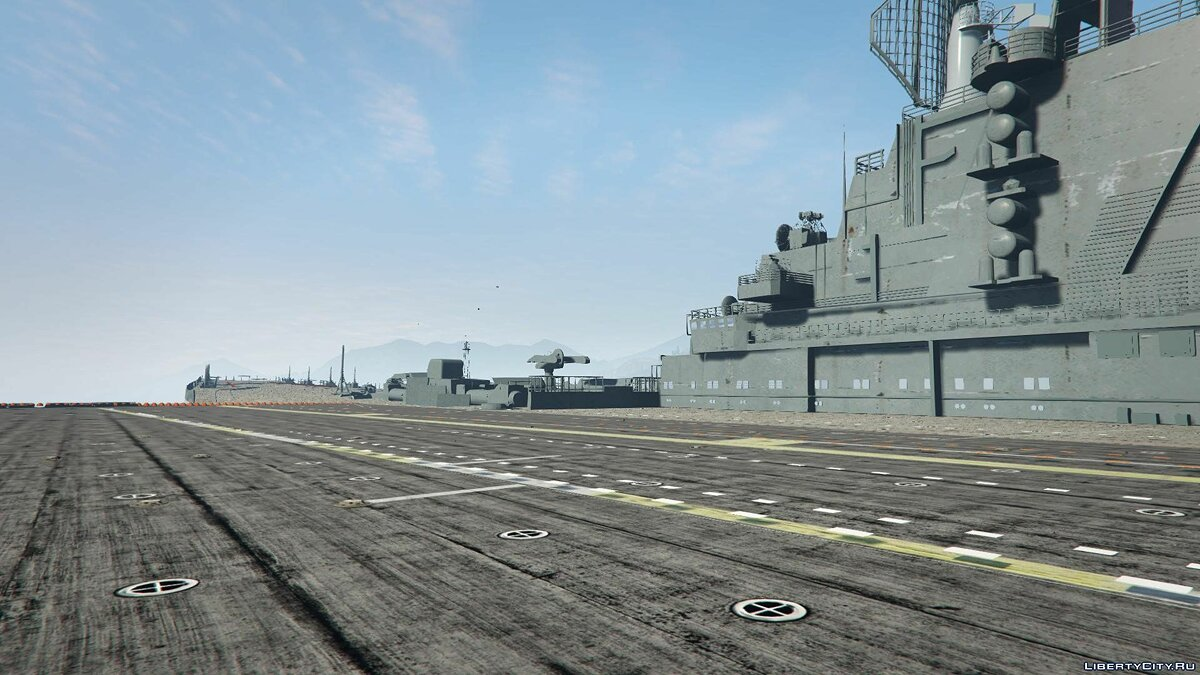 Drivable Aircraft Carrier [Add-On] 2.0 для GTA 5 - скриншот #2