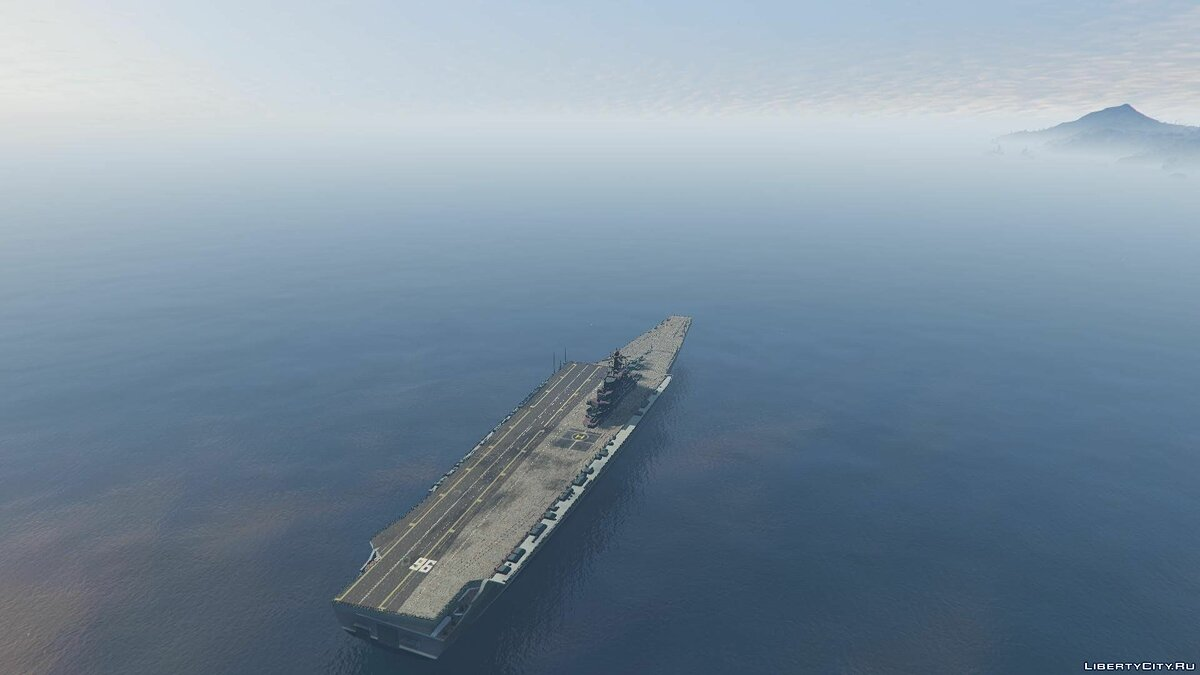 Drivable Aircraft Carrier [Add-On] 2.0 для GTA 5 - скриншот #3