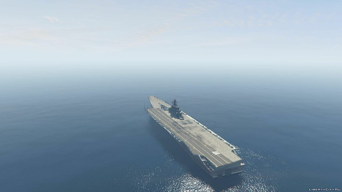 Drivable Aircraft Carrier [Add-On] 2.0 для GTA 5 - скриншот #5