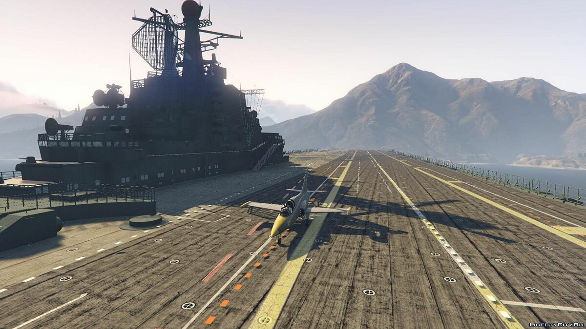 Drivable Aircraft Carrier [Add-On] 2.0 для GTA 5 - скриншот #9