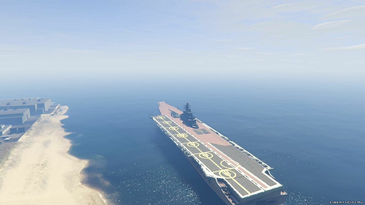 Drivable Aircraft Carrier [Add-On] для GTA 5 - скриншот #7