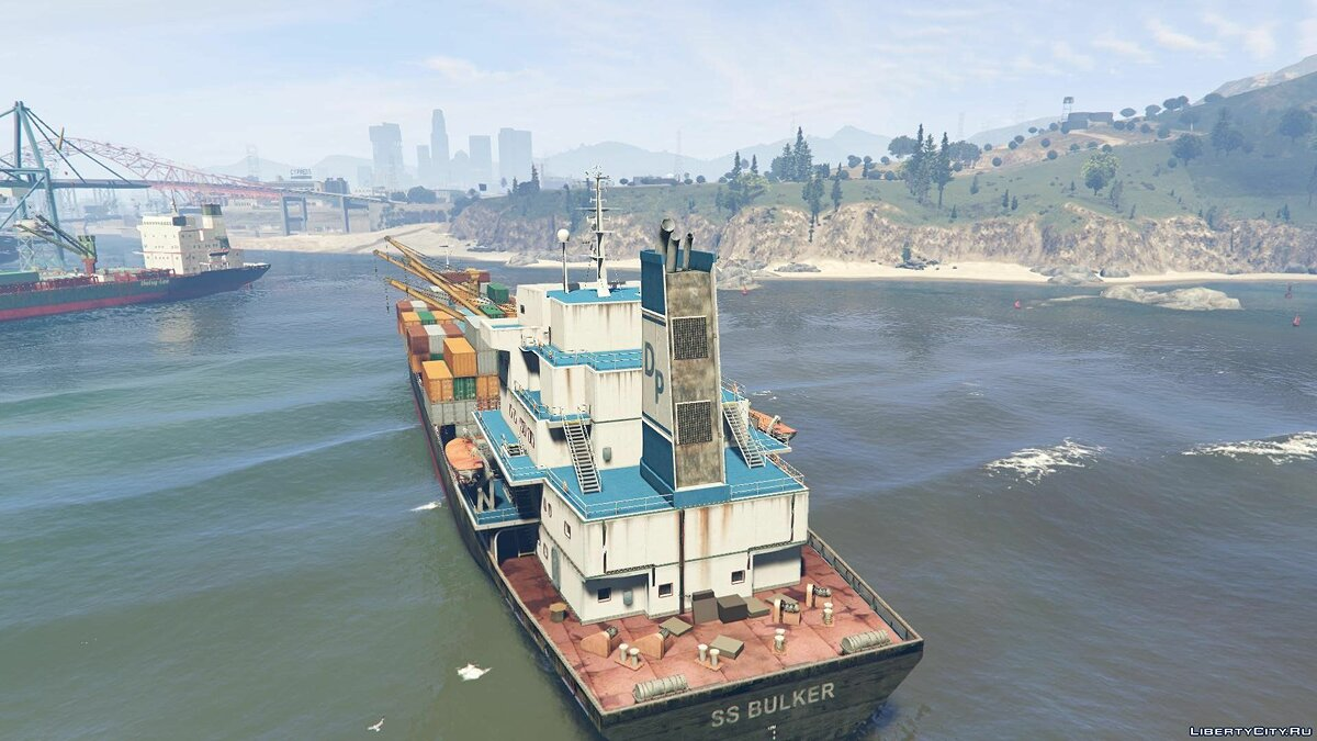 S.S. Bulker [Add-On] 1.1 для GTA 5 - скриншот #4