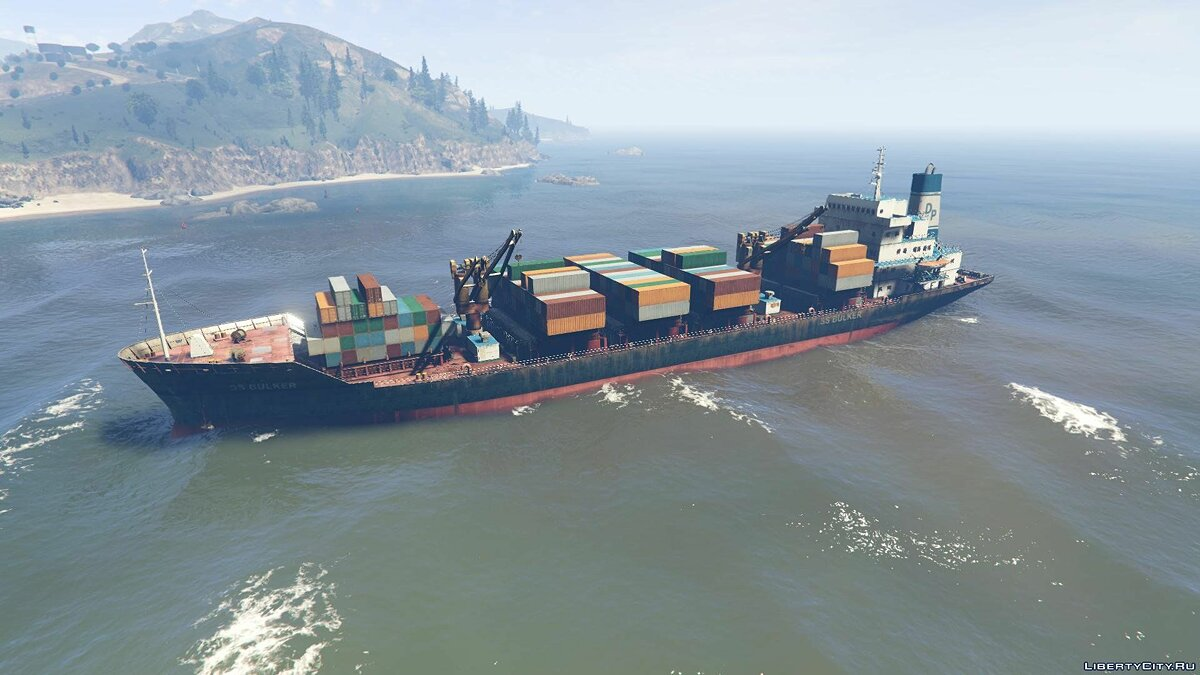S.S. Bulker [Add-On] 1.1 для GTA 5 - скриншот #6