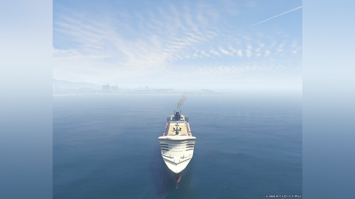 2003 RMS Queen Mary 2 Add-On для GTA 5 - скриншот #2