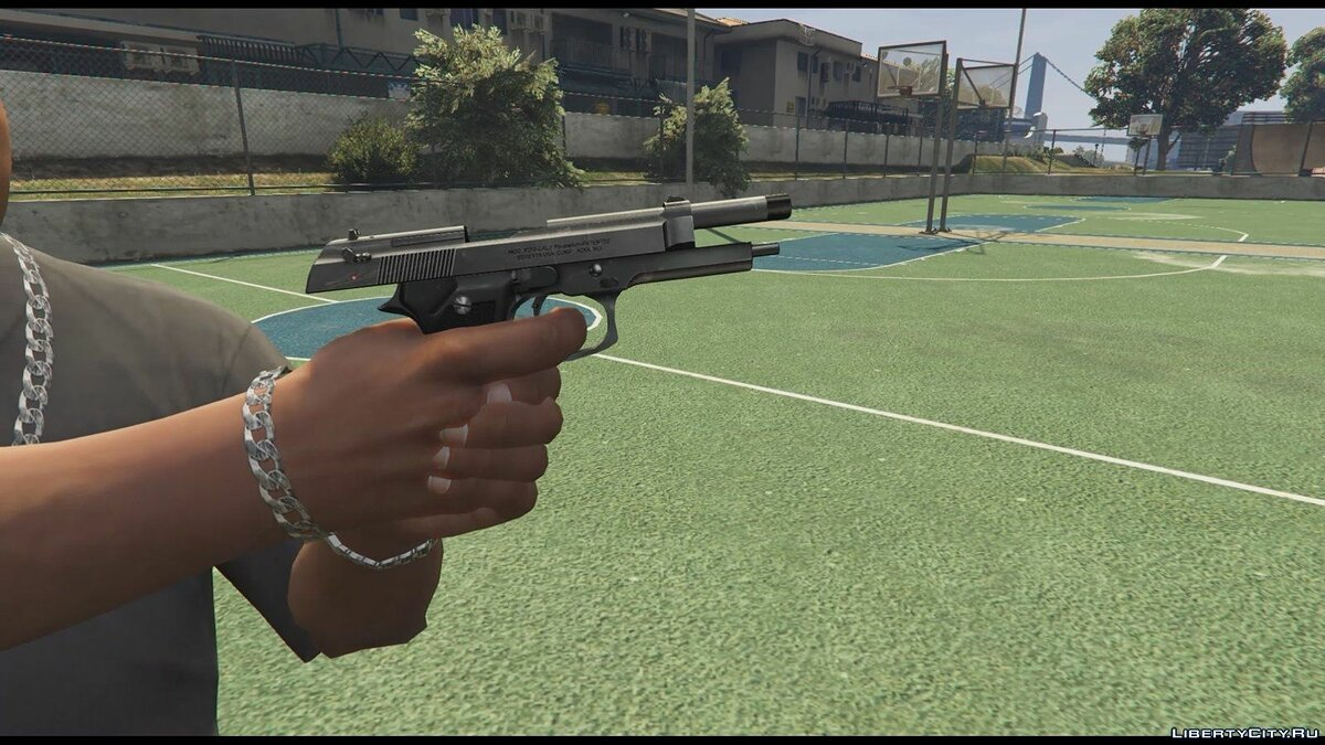 Beretta M9 (Animated) для GTA 5 - скриншот #2