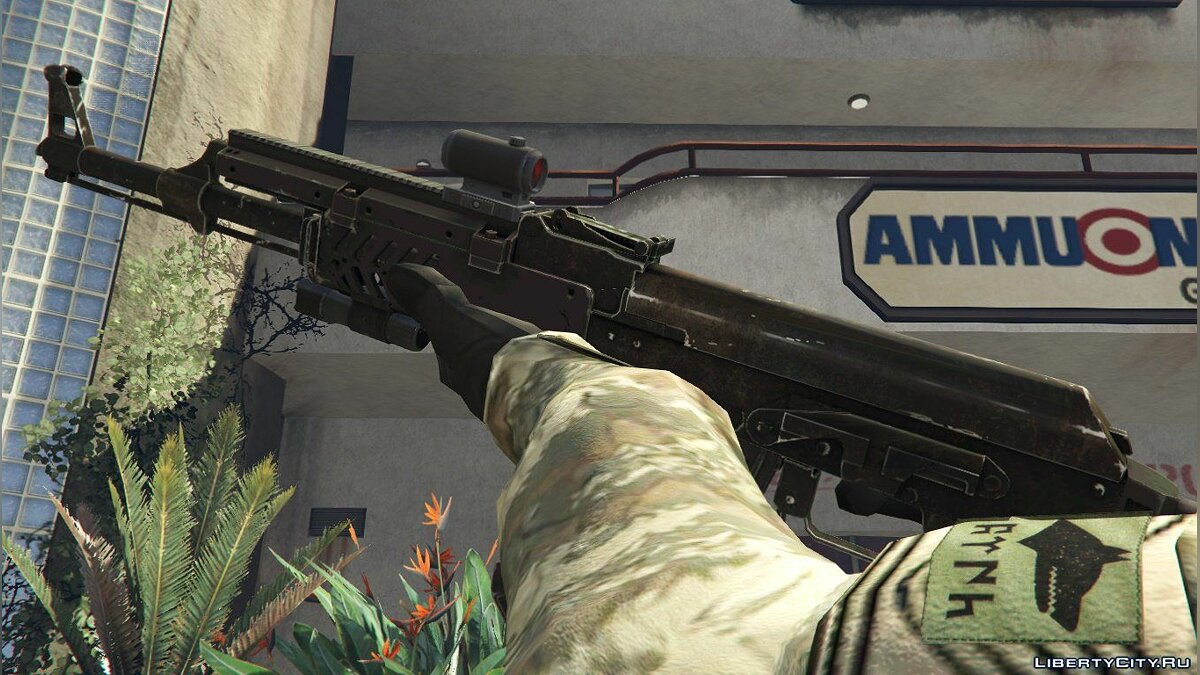 ��ружейный мод Tactical Ak47 Animated 1.0 для GTA 5