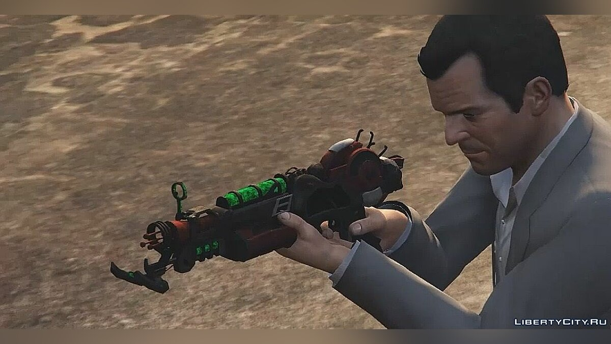 Ray Gun Mark II для GTA 5 - скриншот #2