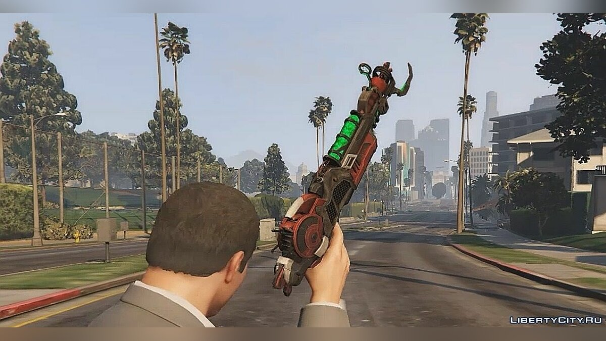 Ray Gun Mark II для GTA 5 - скриншот #3