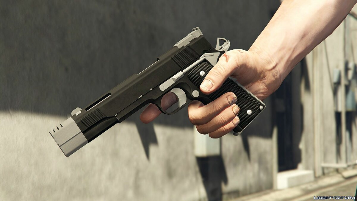 Punisher Custom 1911 1.0 для GTA 5