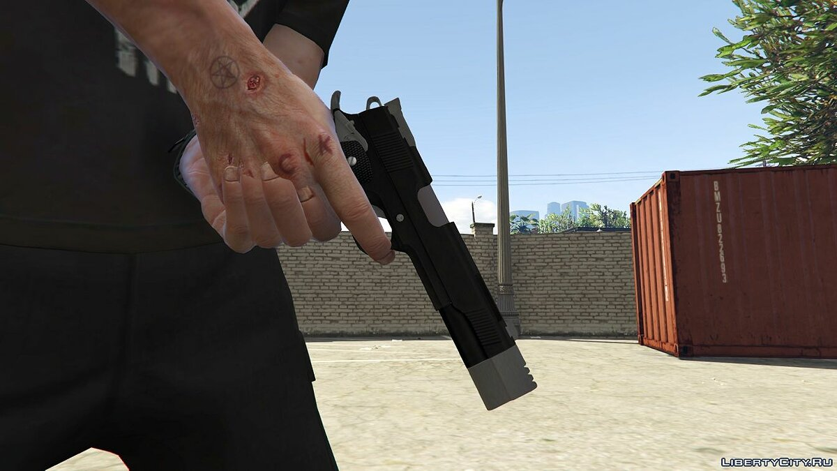 Punisher Custom 1911 1.0 для GTA 5 - скриншот #2