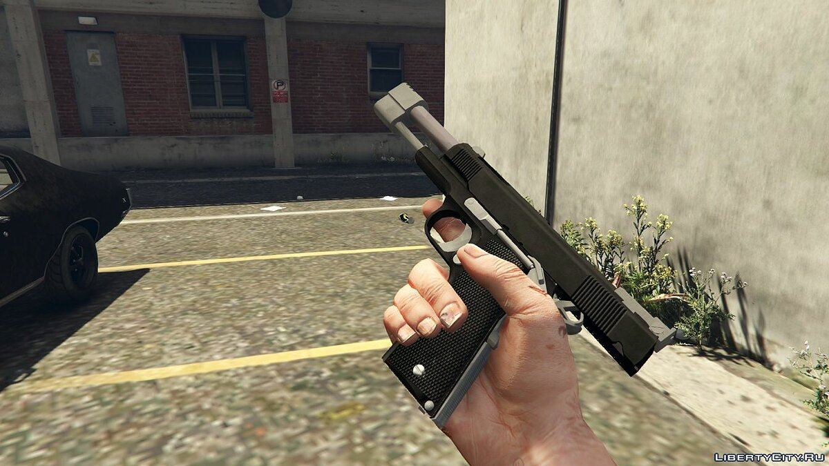 Punisher Custom 1911 1.0 для GTA 5 - скриншот #3