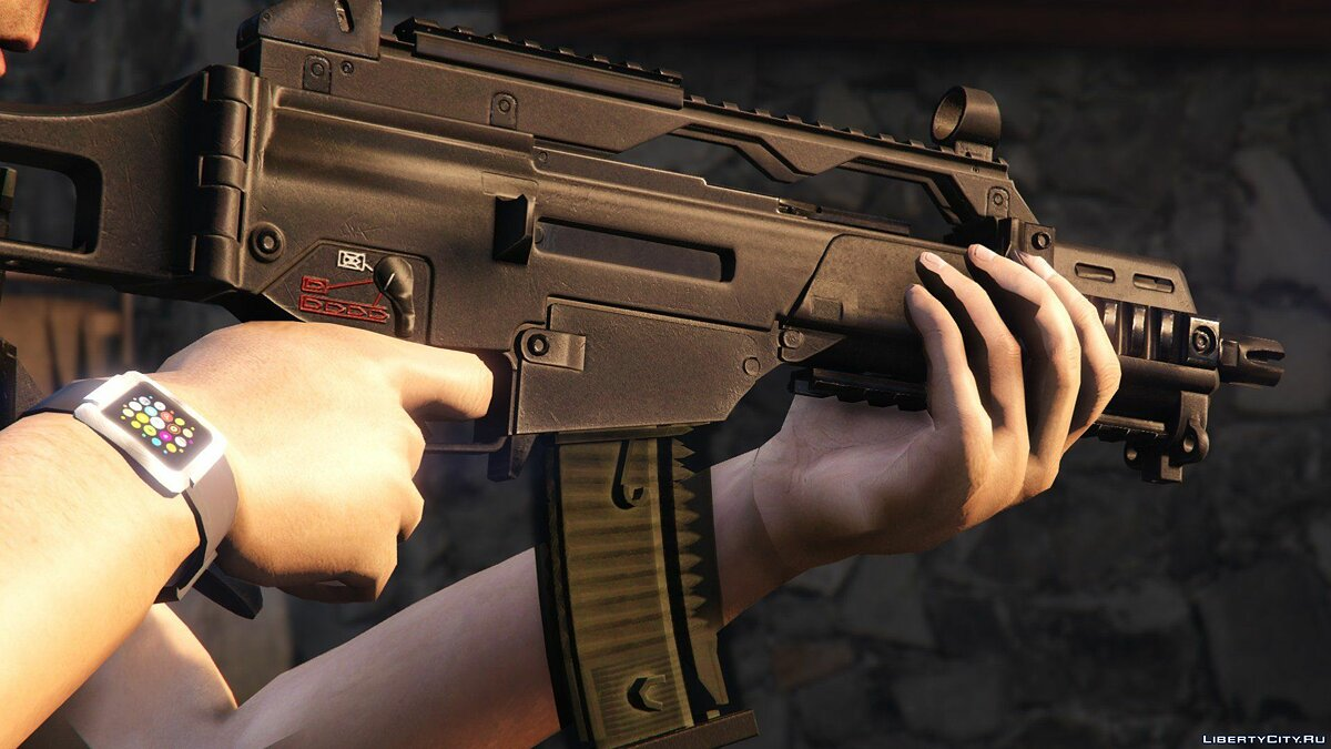 Real Weapons V [Animated] 1.0 для GTA 5 - скриншот #7