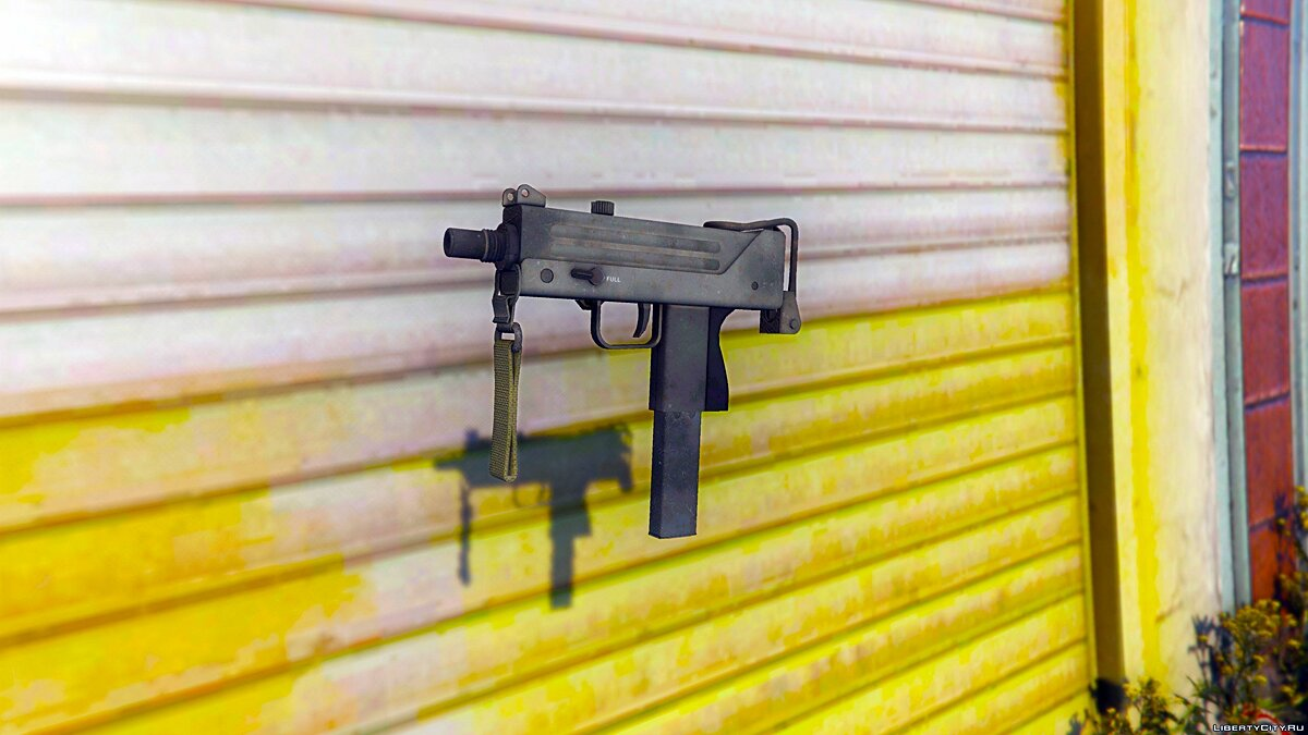 MAC-10 from CS:GO [Animated] для GTA 5 - скриншот #4
