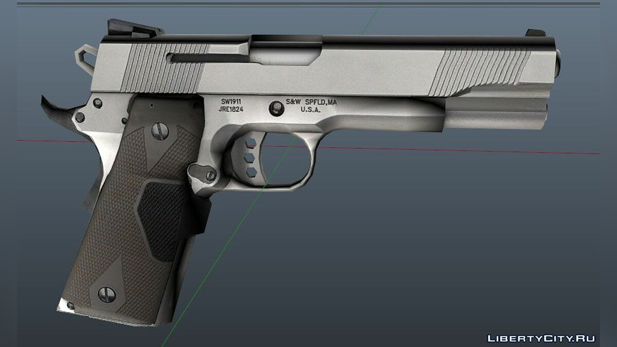 45 ACP Smith and Wesson для GTA 5