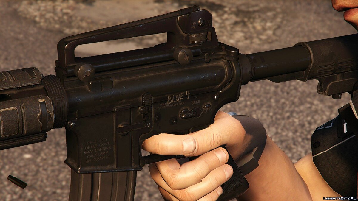 Real Weapons V [Animated] 0.5b для GTA 5 - скриншот #9