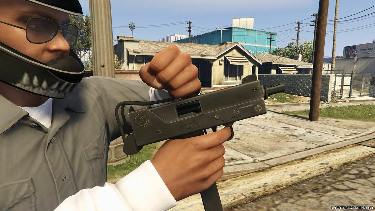 Ingram MAC-10 (Animated) для GTA 5