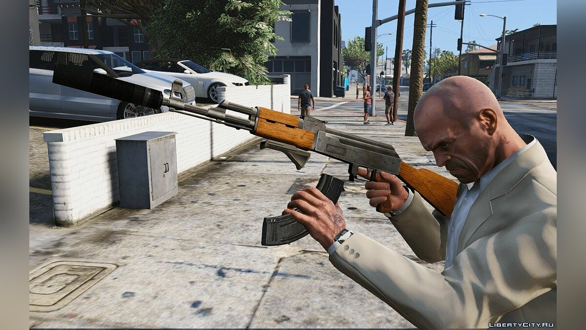 IV Weapons Pack для GTA 5 - скриншот #9