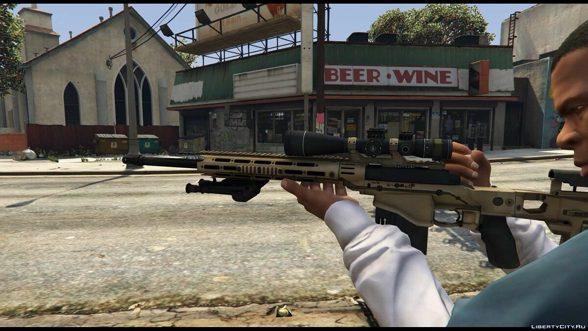 Remington MSR для GTA 5 - скриншот #2