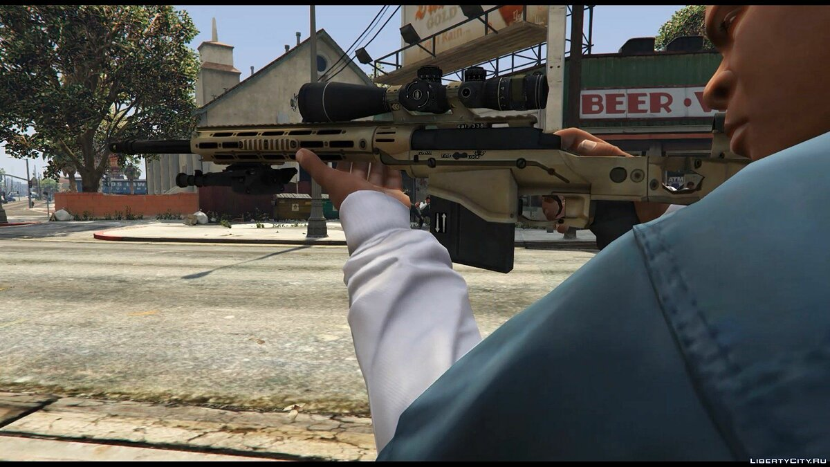 Remington MSR для GTA 5 - скриншот #3