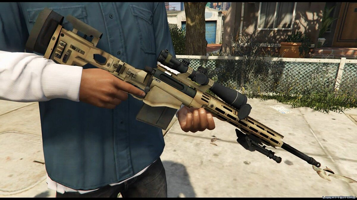 Remington MSR для GTA 5 - скриншот #4