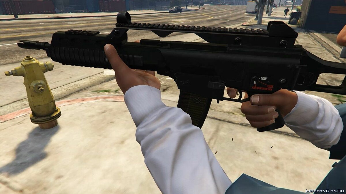 G36K (Animated) для GTA 5 - скриншот #4