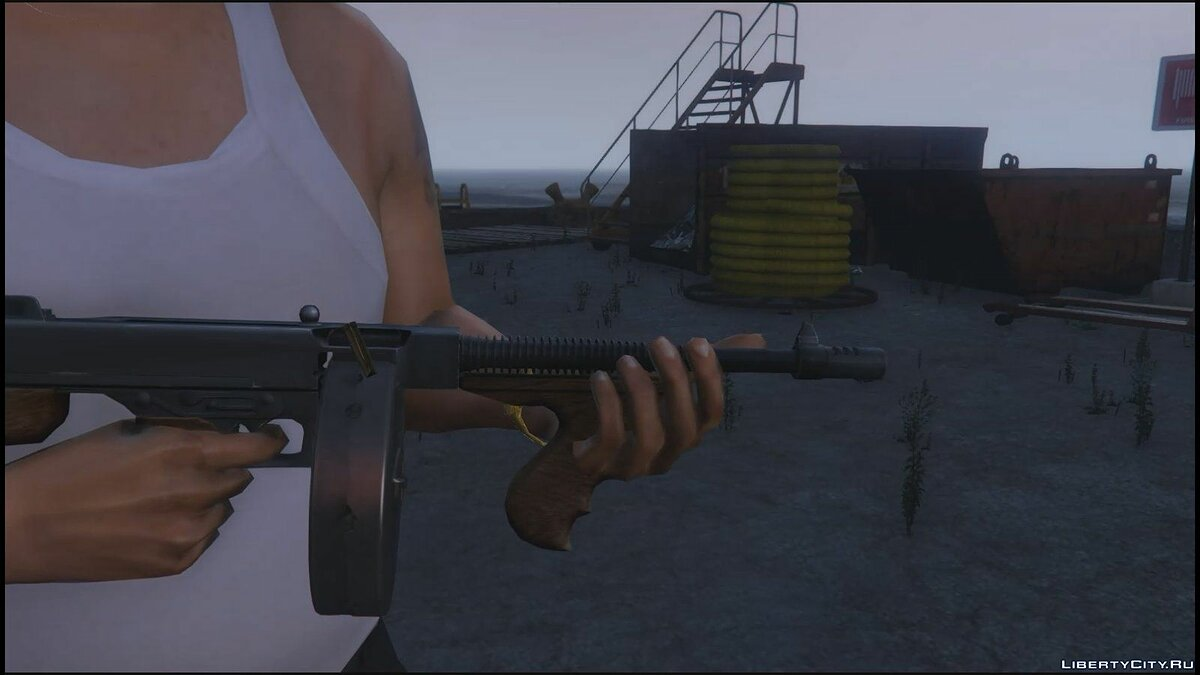 "Thompson ""Tommy Gun"" 1921 для GTA 5 - скриншот #4"