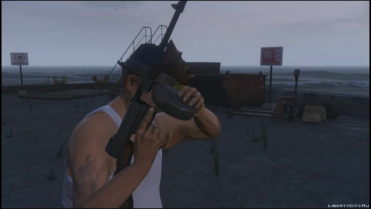 "Thompson ""Tommy Gun"" 1921 для GTA 5"