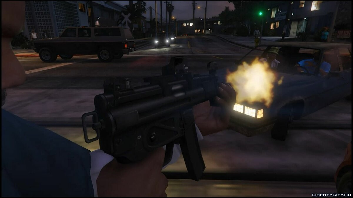 Tactical MP5K для GTA 5 - скриншот #2