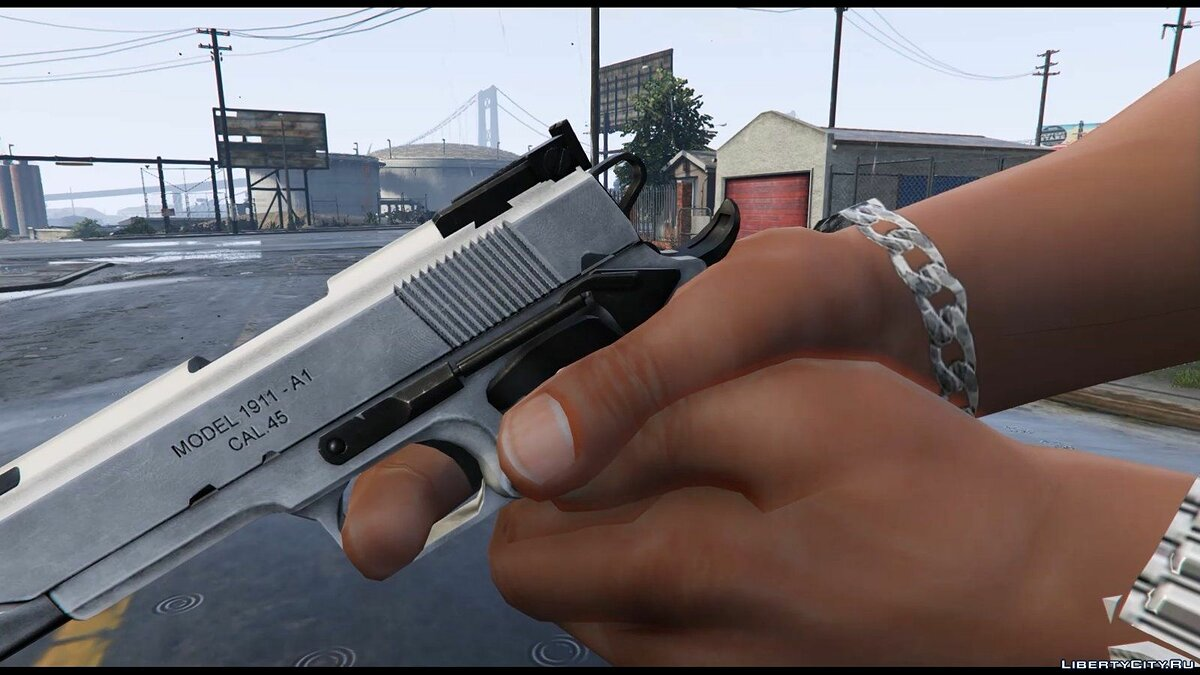Colt 1911 (Animated) для GTA 5